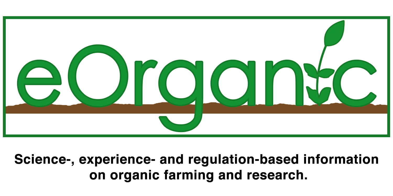 eOrganic - Science-, experience- and regulation-based information on organic farming and research.