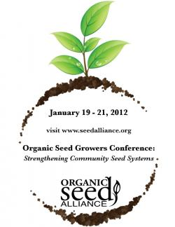 organic seed growers conference 2012